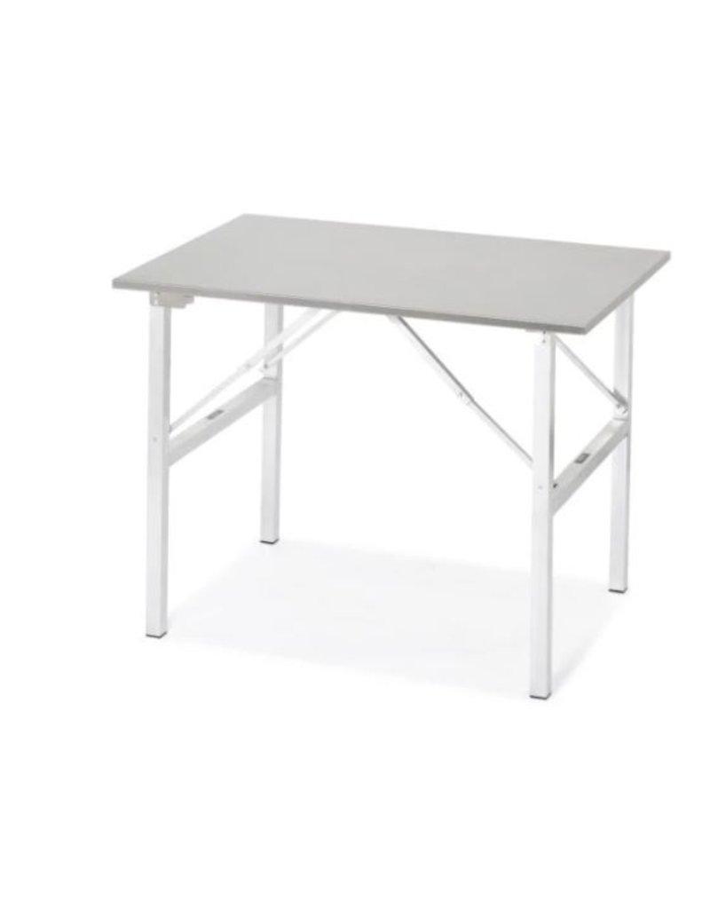 Bijzet inox opklapbare tafel