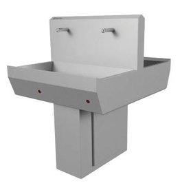 Hand wash trough double