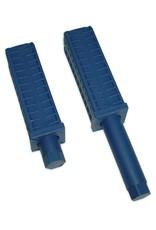 Verstelbare poot voor vierkant profiel 40x40x1 mm  of 40x40x1,5 mm