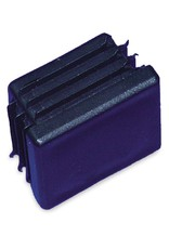 Plastic square block for tube
