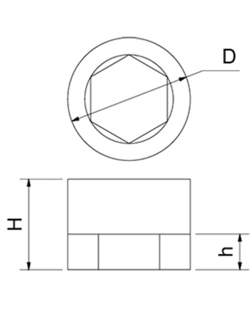 anti-vibrerende basis voor verstelbaar blok