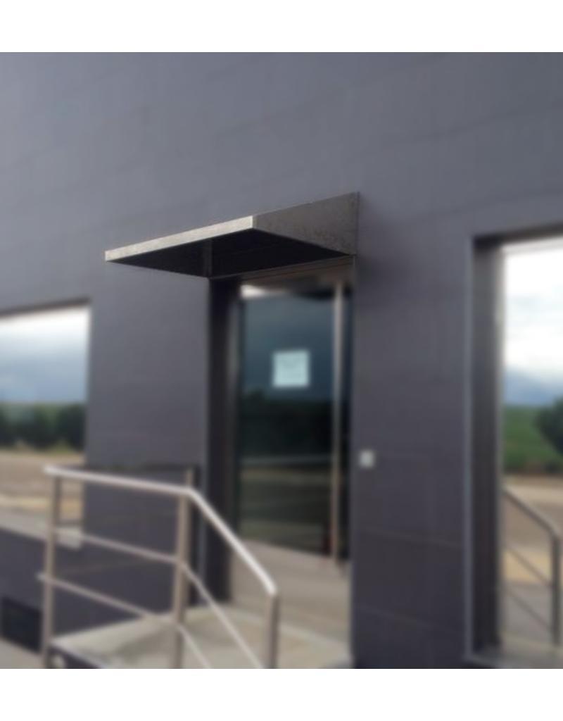 Door shelter in stainless steel