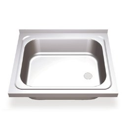 Sink with sliding doors