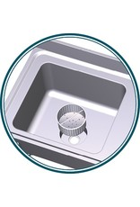 Sink for plaster work