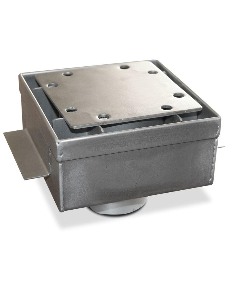 Lateral drain grate