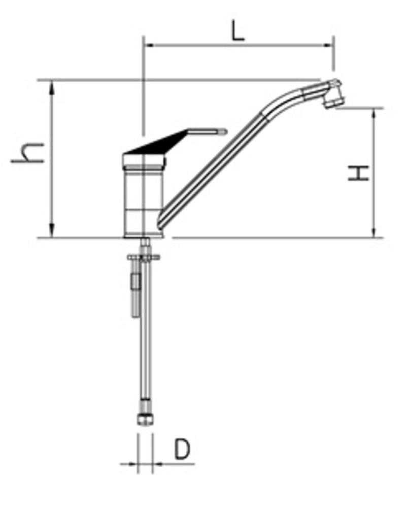 Mixing tap