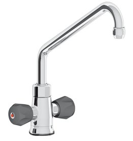 Insulated mixing tap