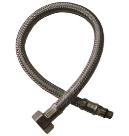 Shower hose for double inlet