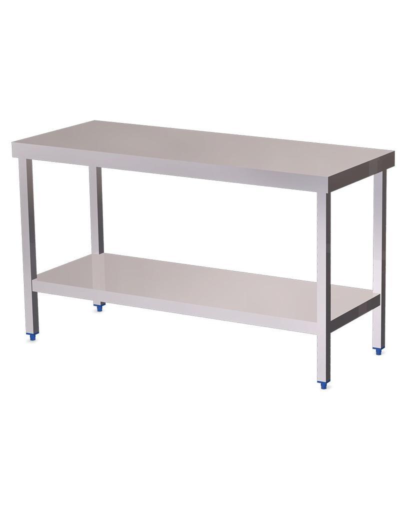 Island Table with shelf