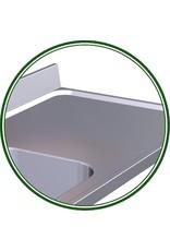 Tafel met wasbak en zonder legplank