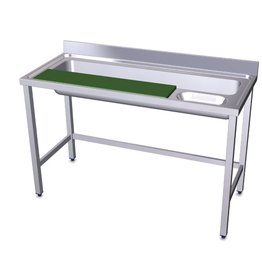 Vegetable preparation table