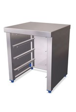 Modulaire box gastronorm houder