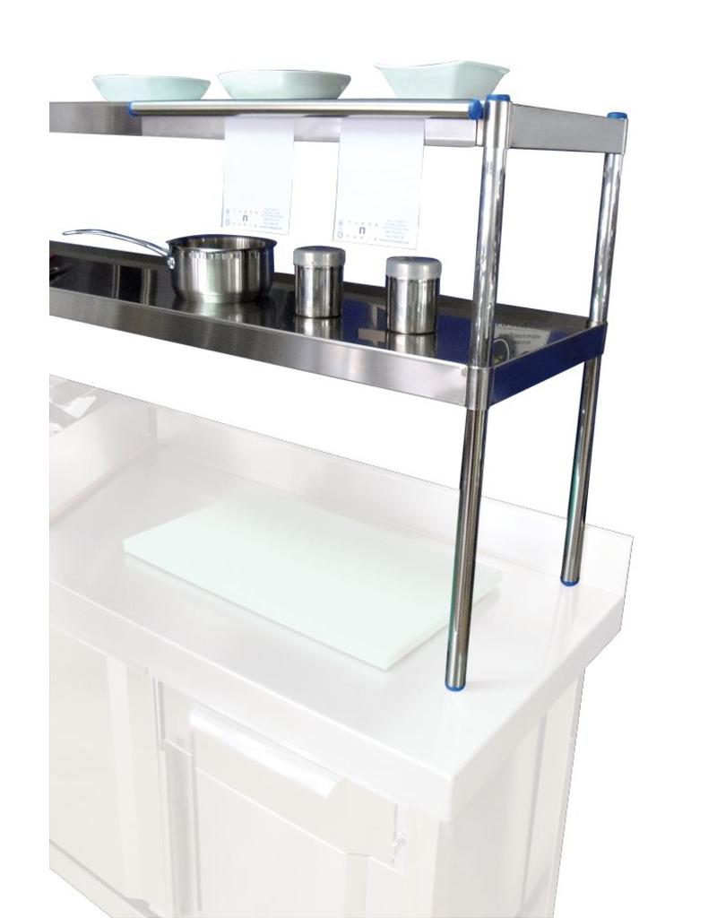 Upper Table with 2 shelves