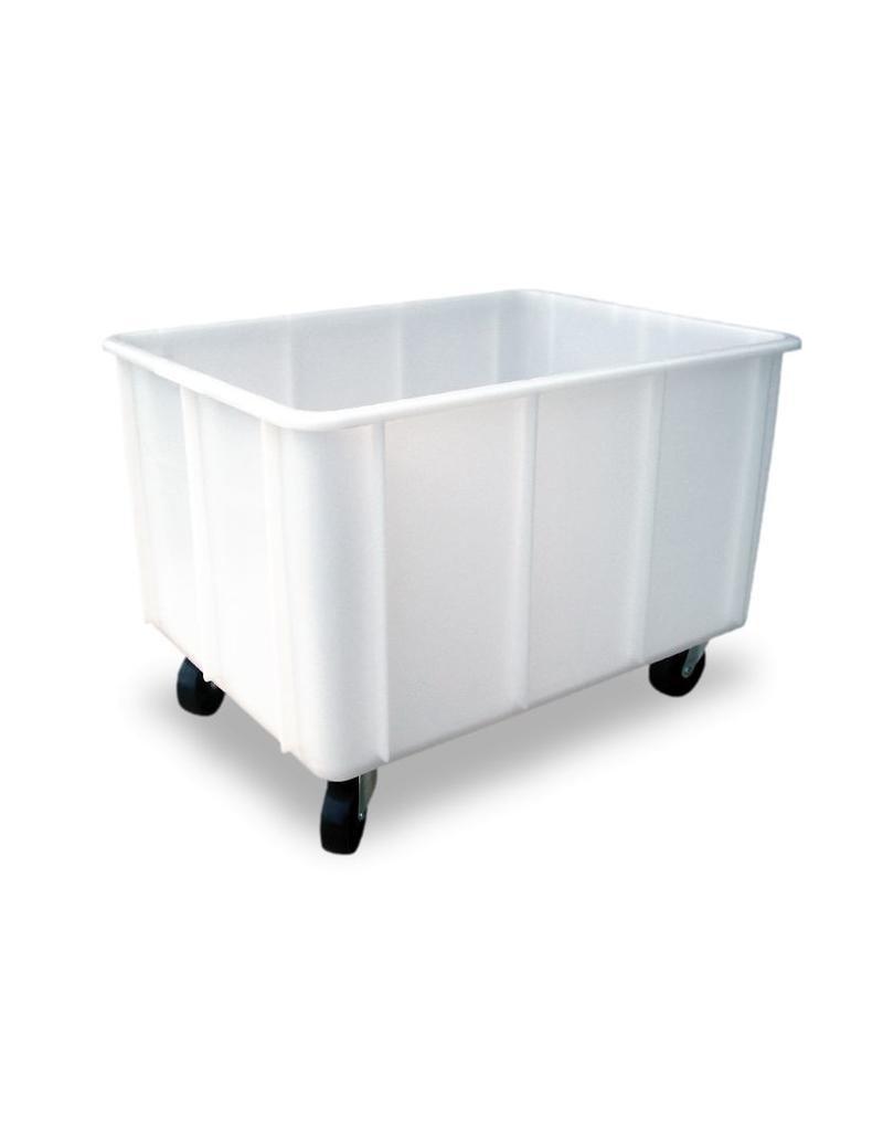Washing trolley with drain