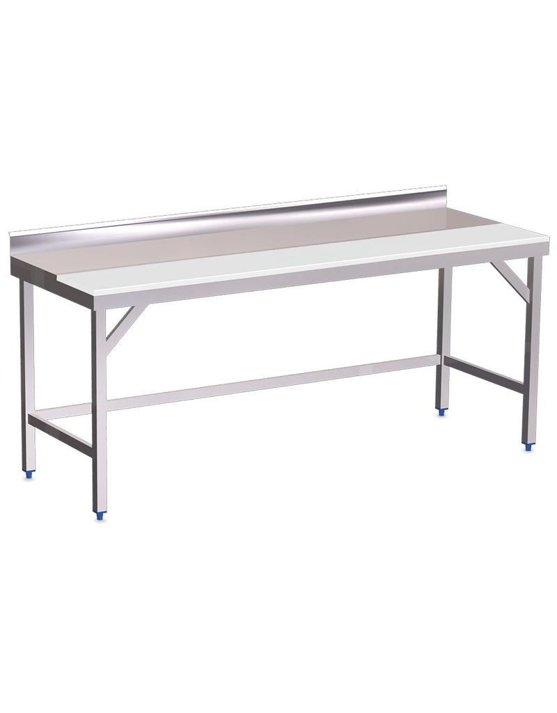 Wall Table half sheet in polyethylene without shelf