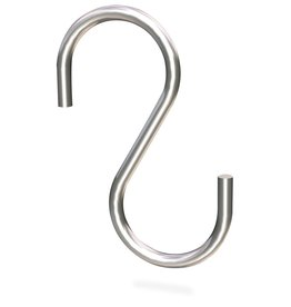 S-shaped hook without point