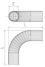Tube in a corner