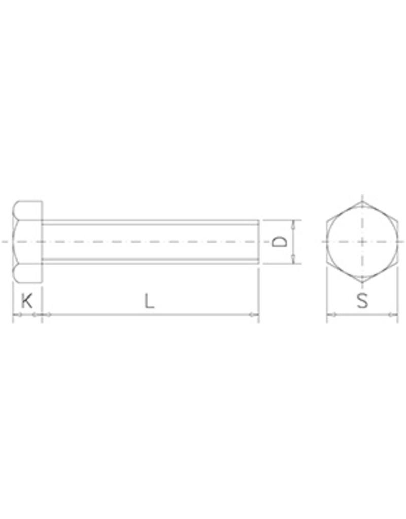 Hexagonal screw