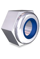 Hexagonal nut with lock