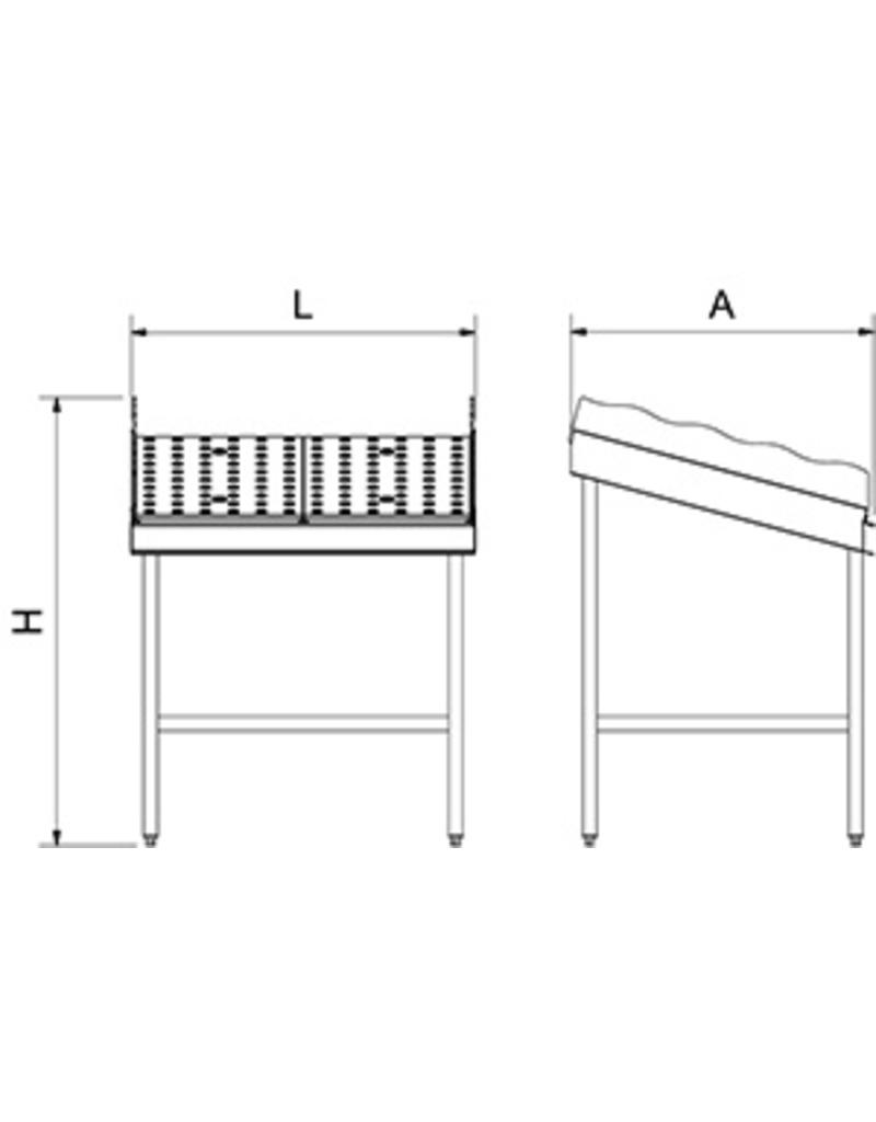 Modular extension for fish counter