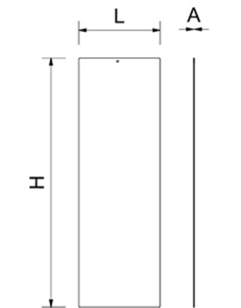 Locker separator - divide width