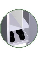 Locker separator - divide length