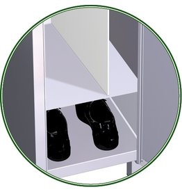 Locker separator - divide length