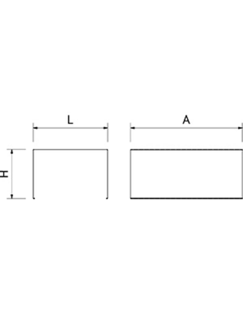 Locker afscheider - lengte verdelen