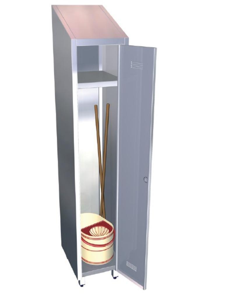 Cupboard for cleaning - 1 door