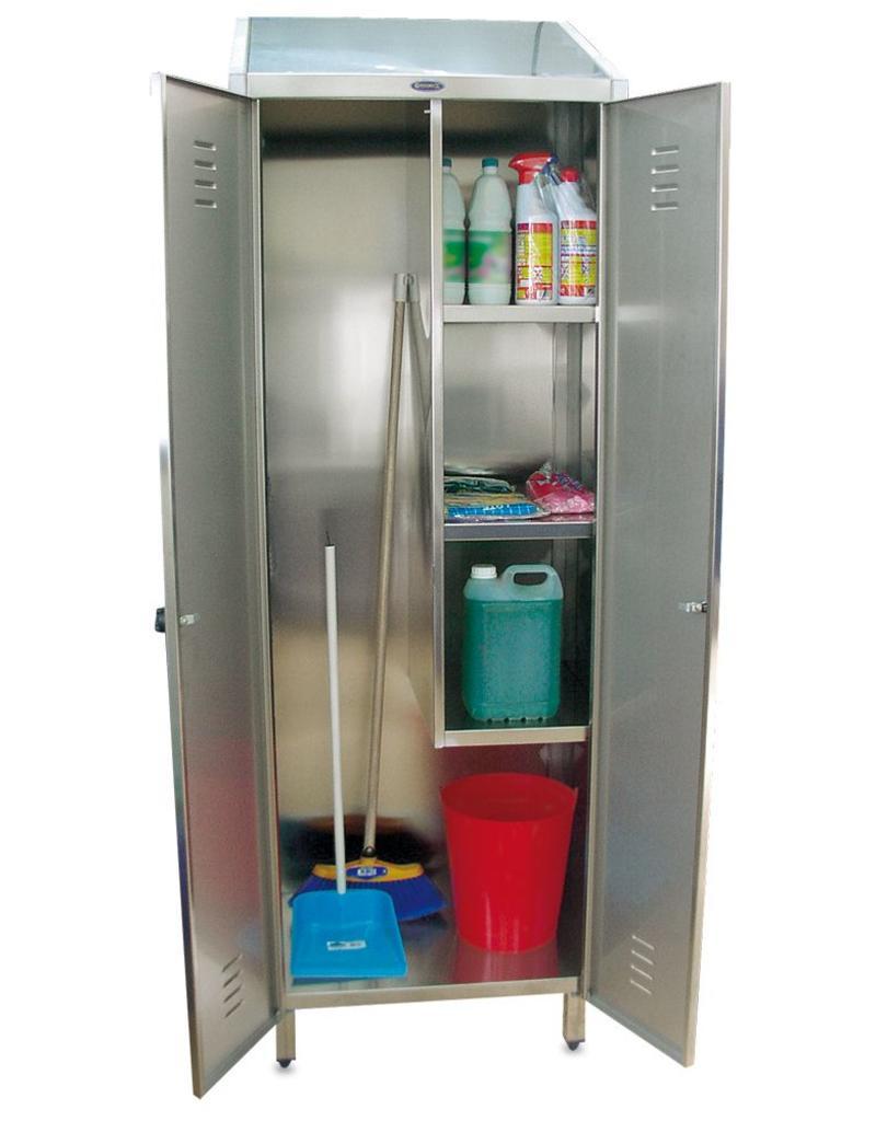 Kast voor reinigingsproducten - 2 deuren