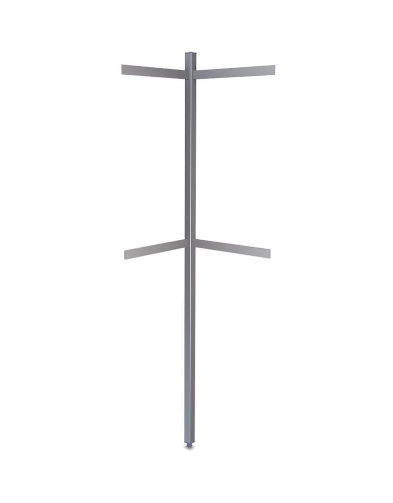 Perforated column of bars - corner