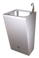 Standard hand basin - with electronical operating