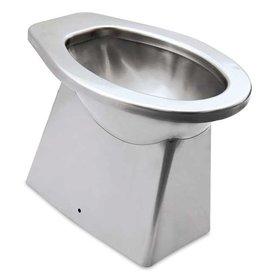 Toilet in inox