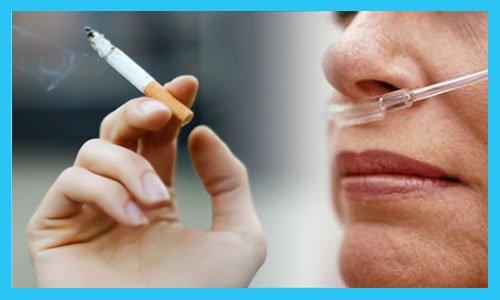 Roken en zuurstoftherapie