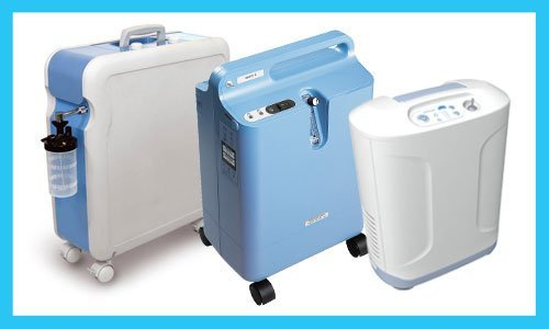 Stationary oxygen concentrators