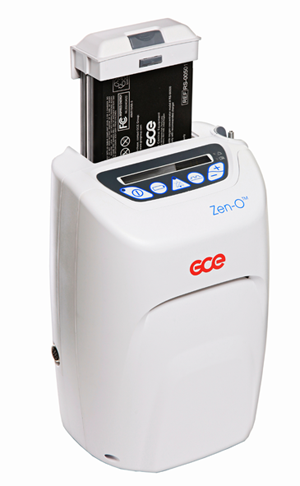 Zen-O concentrator with battery