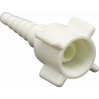 Oxygen tubing connector