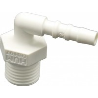 Oxygen tubing connector for humidifier