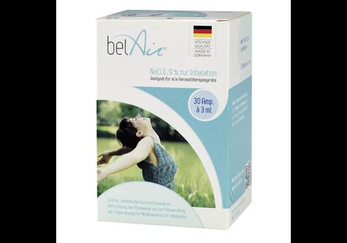 belAir Solution de chlorure de sodium (NaCl 0,9 %) ampoules