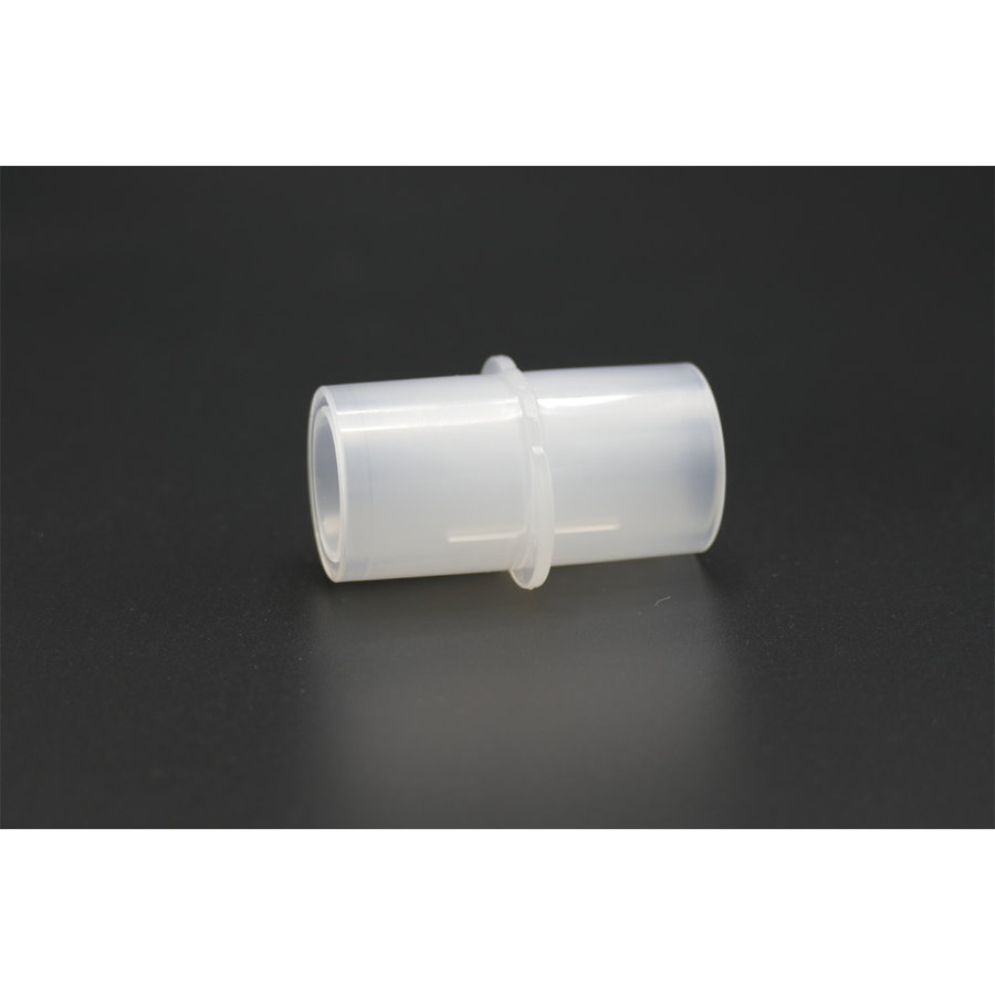 CPAP hose connector