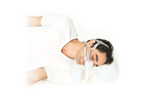 Best in Rest Almohada CPAP de espuma con gel