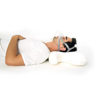 Almohada CPAP de espuma viscoelástica con gel refrigerante