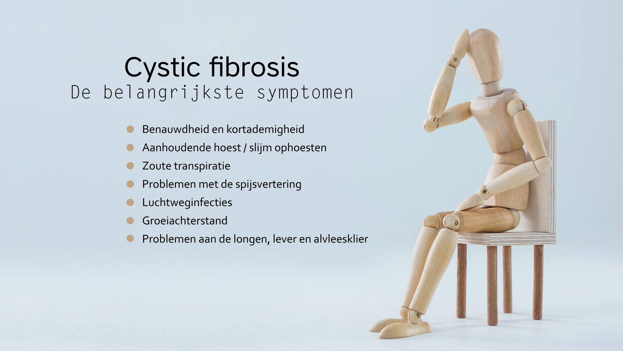 Cystic fibrosis symptomen