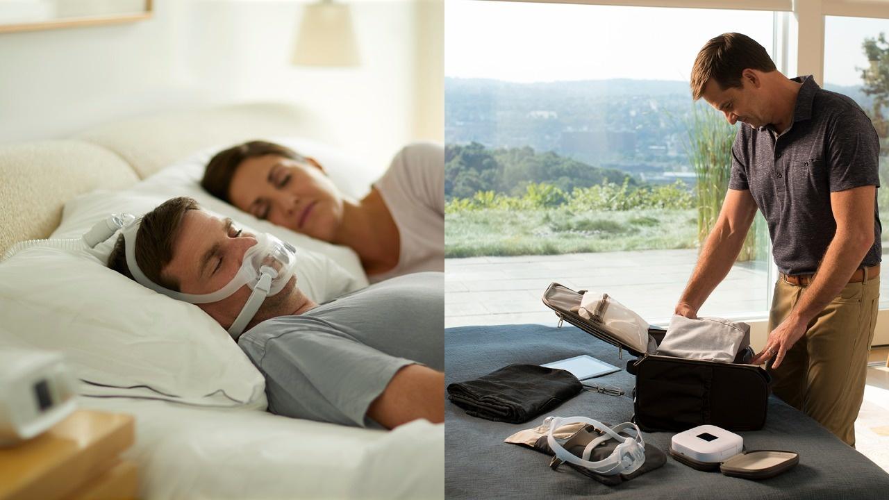 CPAP therapie thuis en CPAP therapie op vakantie