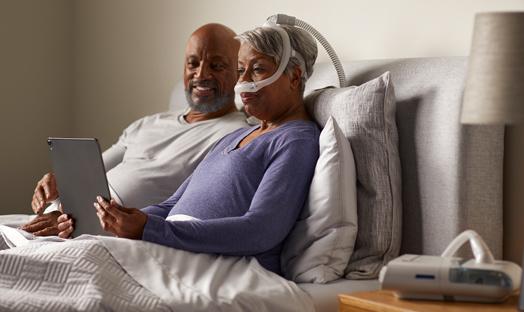 Slaapapneu verhelpen met CPAP