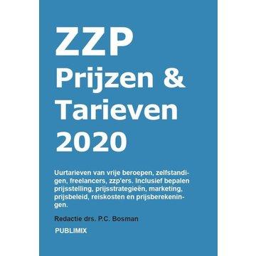 Publimix Uitgevers ZZP uurtarief - gids 2020