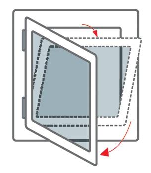 Intura - Dak/gevel raam kunststof KPVCL R3