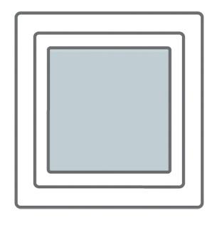 Intura - Dak/gevel raam kunststof KPVCN FIP R3 Vast raam