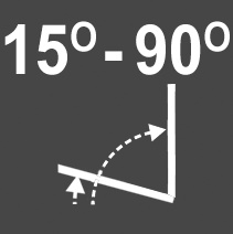 Intura - Tuimeldakraam kunststof VGO E2