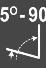 Intura - 3/4 Tuimeldakraam kunststof VGH E3